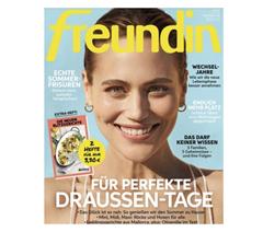 """Bild zu Schnupperabo für 6 Monate (12 Ausgaben) """"freundin"""" für 43,20€ + 45€ Amazon Gutschein"""