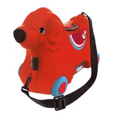 Bild zu BIG 800055350 Bobby-Trolley Kinderkoffer in Rot für 15,82€ (Vergleich: 34,99€)