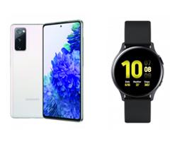 Bild zu Samsung Galaxy S20 FE 128 GB + Galaxy Watch Active2 40mm für 99€ mit 10GB Datenflat, SMS und Sprachflat im Telekom Netz (Congstar) für 22€/Monat