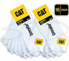 Bild zu 16er Pack CAT CATERPILLAR SNEAKER SOCKEN (Gr.: 39 – 50) für 25,52€ (VG: 44€)