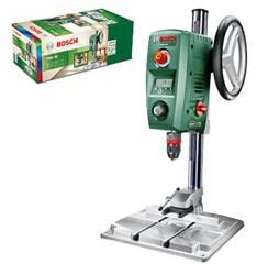 Bild zu Bosch Tischbohrmaschine PBD 40 (710 W, Max. Bohr-Ø in Stahl/Holz: 13 mm/40 mm, Bohrhub 90mm, im Karton) für 209,24€ (Vergleich: 249€)