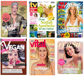 Bild zu [endet heute] 7 verschiedene Zeitschriften als Halbjahresabo für je einen Euro–Kündigung notwendig