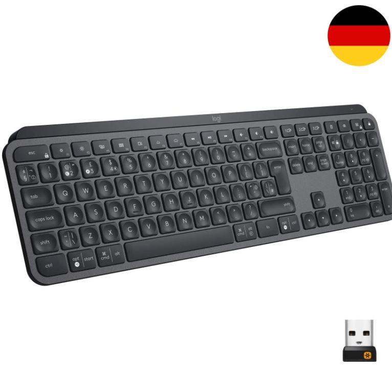 Bild zu Logitech MX Keys Tastatur (Windows/Mac Kombi Layout, QWERTZ, Beleuchtet) für 63,20€ (VG: 74,90€)