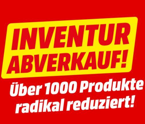 Bild zu MediaMarkt: Inventur Abverkauf über 1.000 Artikel zu reduzierten Preisen