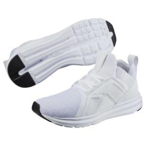 puma enzo mesh sneaker in weiß