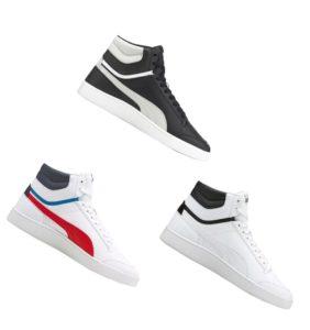 puma shuffle mid sneaker