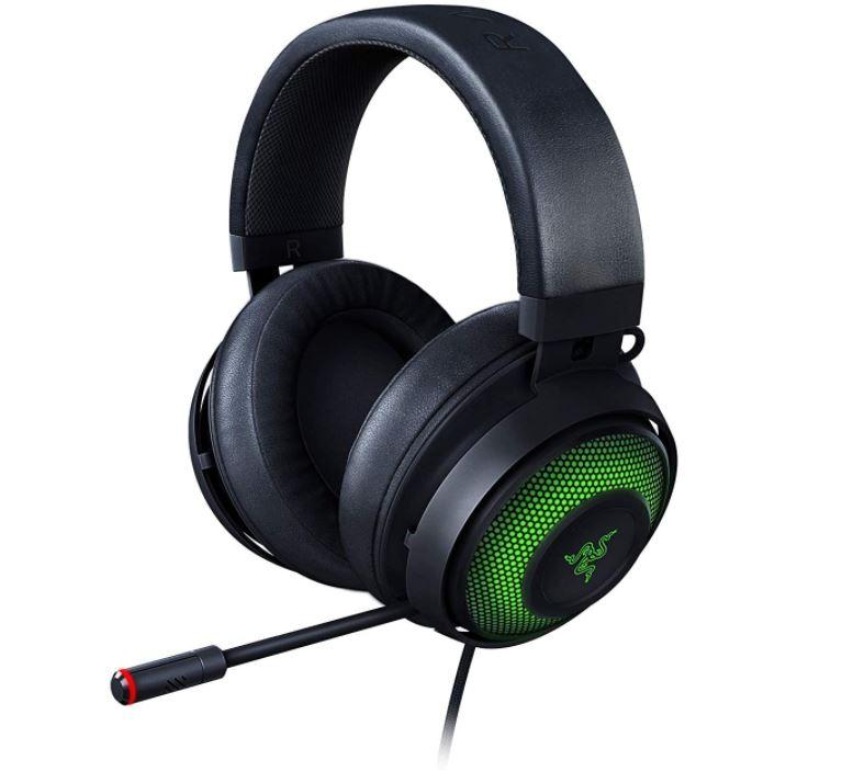 Bild zu Amazon.es: Razer Kraken Ultimate 7.1 Surround USB-Gaming-Headset (THX Spatial Audio, Noise Canceling Mic, kabelgebunden) für 79,52€ (VG: 119,90€)