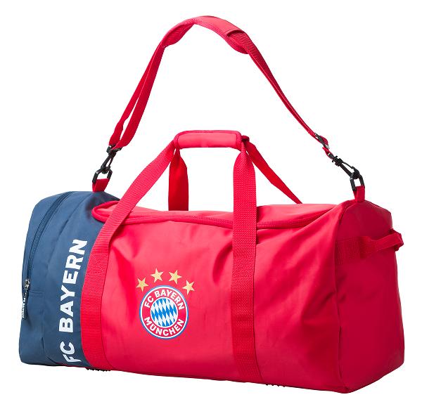 Bild zu 65 Liter FC Bayern München Sporttasche für 15,46€ (Vergleich: 29,95€)