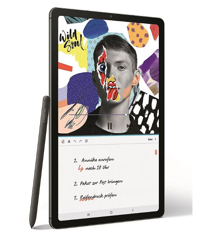 Bild zu Samsung GALAXY Tab S6 Lite WiFi 64GB inkl. S-Pen für 249€ (VG: 292,03€)