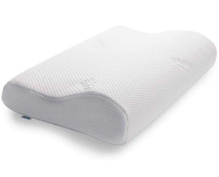 Bild zu TEMPUR Original Schlafkissen in der Größe M (ergonomisches Nackenstützkissen für Seiten- und Rückenschläfer, Weiß, M (31 x 50 x 10/7 cm)) für 59,99€ (VG: 84€)