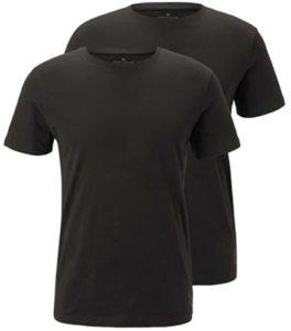 tom tailor t-shirts schwarz