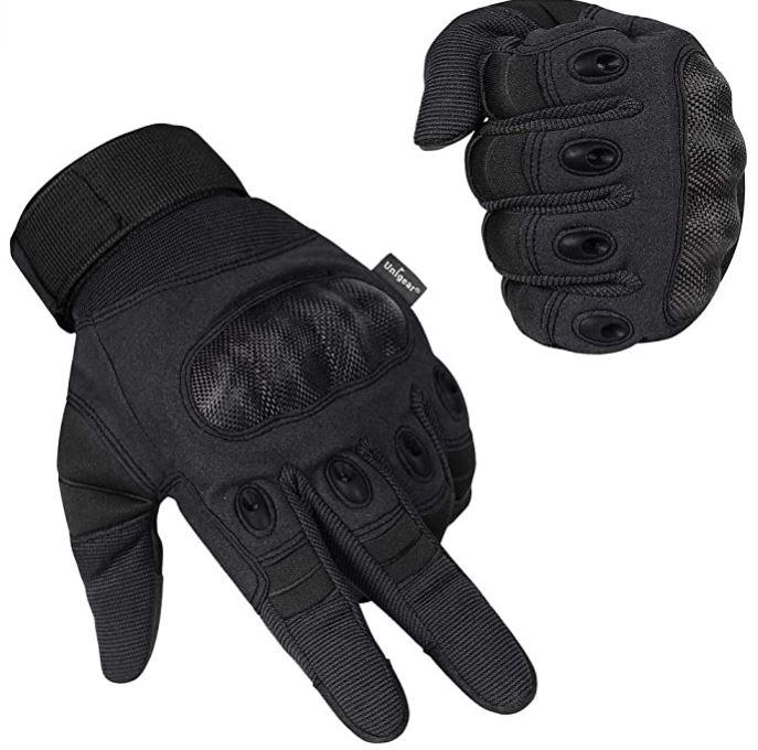 Bild zu Unigear Motorrad Handschuhe (mit Knöchelschoner) ab 10,79€ dank 40% Rabatt