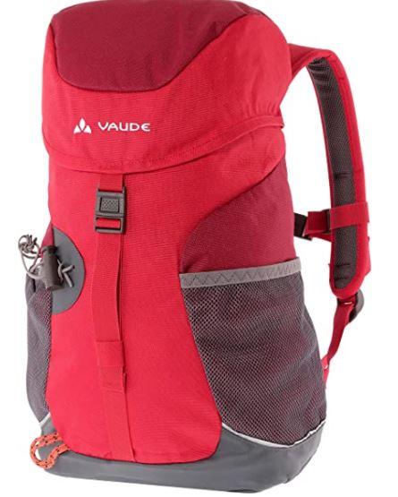 Bild zu VAUDE Kinder-Rucksack Puck 10 in Rot ab 19,99€ (VG: 30,99€)