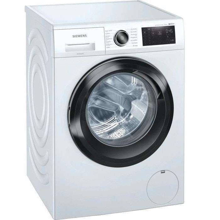 Bild zu 9kg Waschmaschine Siemens iQ500 WM14UR5EM (1400Upm, A+++/C, AquaStop, Mengenautomatik) für 459€ (Vergleich: 579,89€)