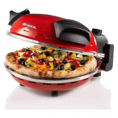 Bild zu 400°C Pizzaofen Ariete 909 mit einer Platte aus feuerfestem Stein für 74,99€ (Vergleich: 86,95€)