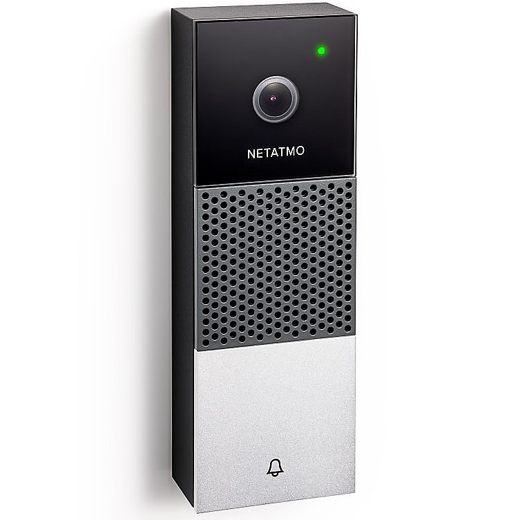 Bild zu Netatmo Smarte Videotürklingel für 229,90€ (Vergleich: 265,90€)