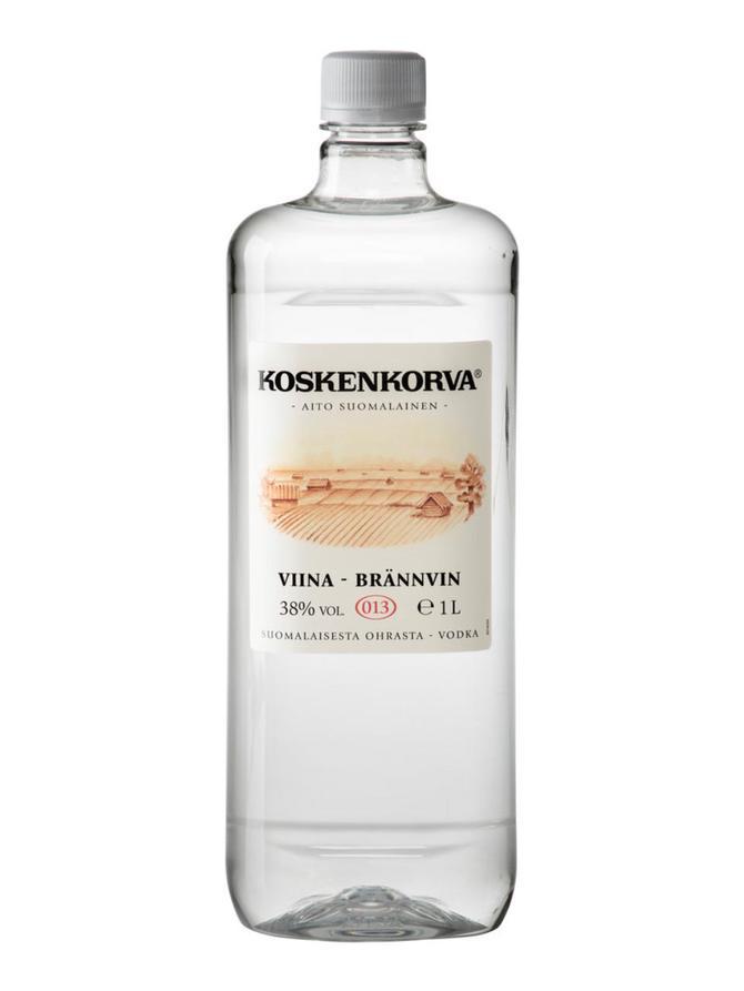 Bild zu 4 x 1,0l Koskenkorva Viina Vodka 38% für 35,60€ (Vergleich: 55,94€)
