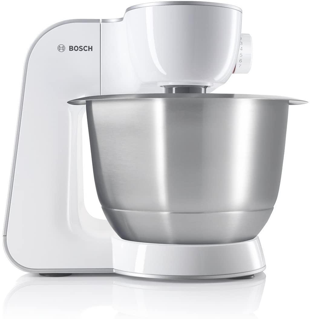 Bild zu Küchenmaschine Bosch MUM5 Styline MUM54270DE mit Edelstahlschüssel für 229,99€ (Vergleich: 305,99€)