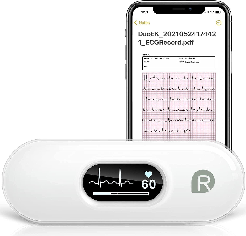 Bild zu Wellue DuoEK EKG-Monitor für iOS und Android für 59,99€