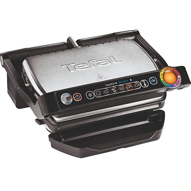 Bild zu Kontaktgrill Tefal GC730D OptiGrill+ Smart mit App-Steuerung für 115,99€ (Vergleich: 140,94€)
