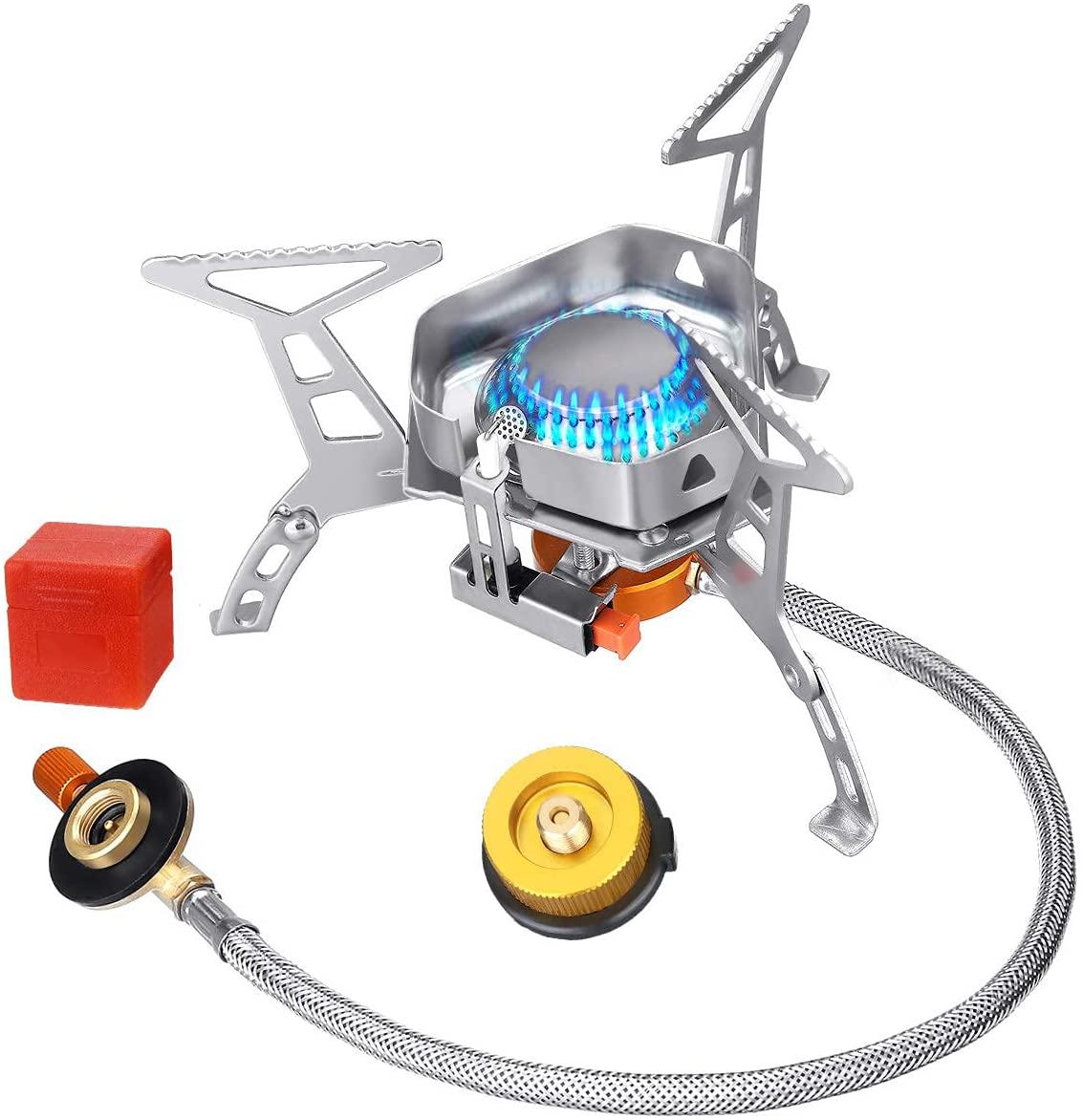 Bild zu 3.500 Watt SGODD Campingkocher mit Piezozündung für 9,95€