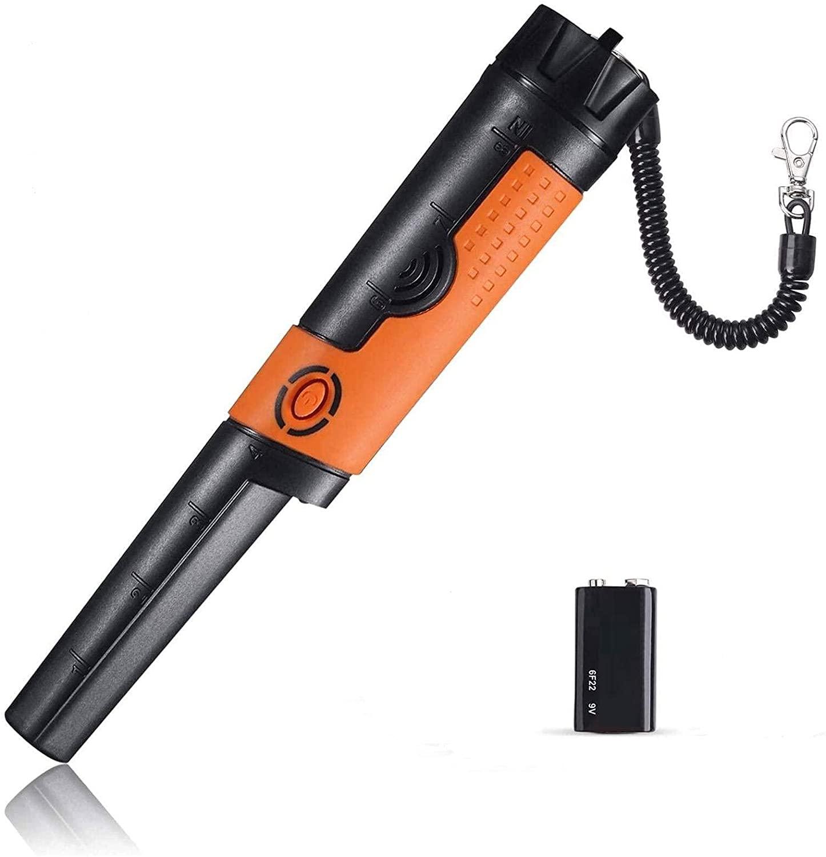 Bild zu Tacklife Pinpointer Metalldetektor (IP68, hohe Empfindlichkeit, Unterwassermessung, 360° Scan) für 18,99€