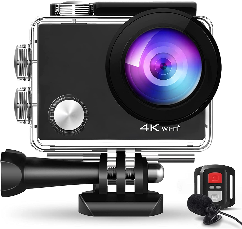 Bild zu MoVaCo 4K Action Cam mit 2.4G Fernbedienung für 34,99€