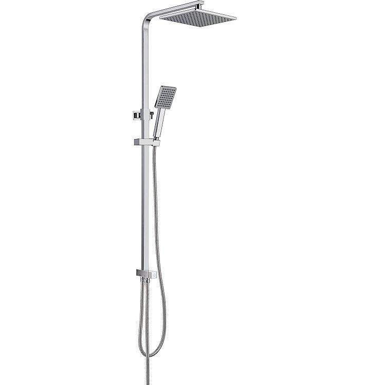 Bild zu CECIPA Duschsystem mit 23cm X 23cm Kopfbrause und Handbrause für 51,49€