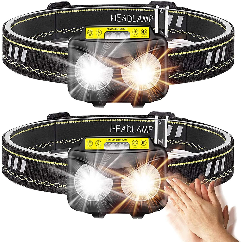 Bild zu Wiederaufladbare BRGOOD LED-Stirnlampe mit 1.000 Lumen für 8,29€