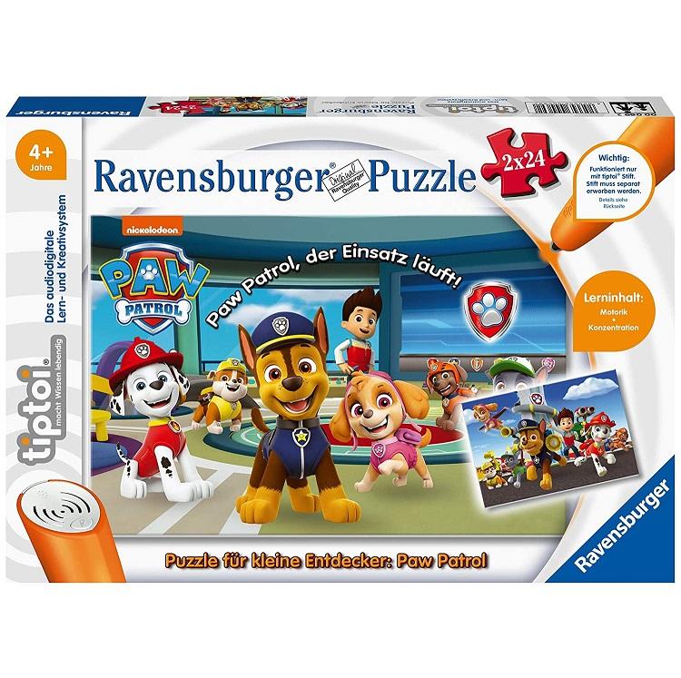 Bild zu Ravensburger Tiptoi Spiel Puzzle für kleine Entdecker: Paw Patrol für 8,76€ (Vergleich: 12,44€)