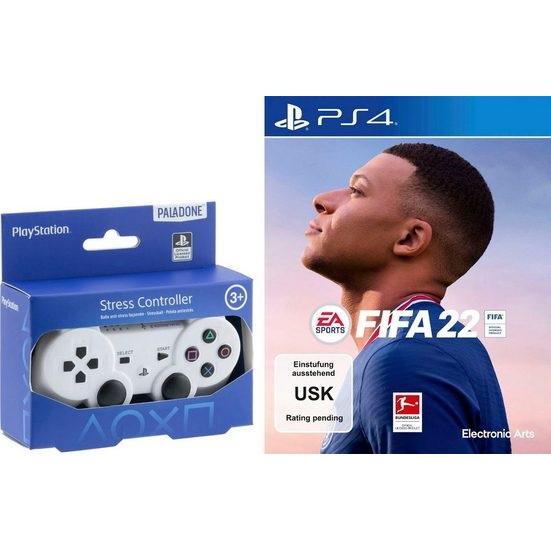 Bild zu FIFA 22 (PS4) inklusie Stressball Controller für 49,99€ (Vergleich: 66,48€)