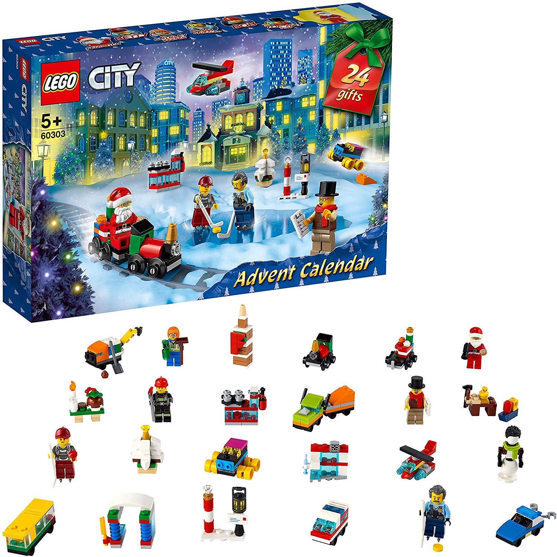 Bild zu Lego City Adventskalender 2021 (60303) für 15,95€ (Vergleich: 19,44€)