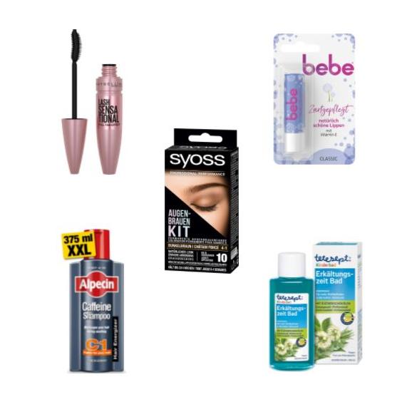 Bild zu [endet heute] Amazon: 5 für 4 Aktion auf Beauty- und Pflegeprodukte