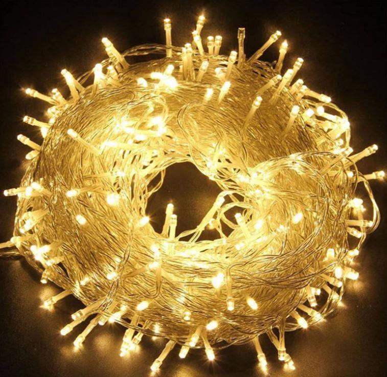 Bild zu 30% Rabatt auf 4 verschiedene EINFEBEN LED Lichterketten (Fernbedienung, 8 Modi) mit 10m – 60m Länge