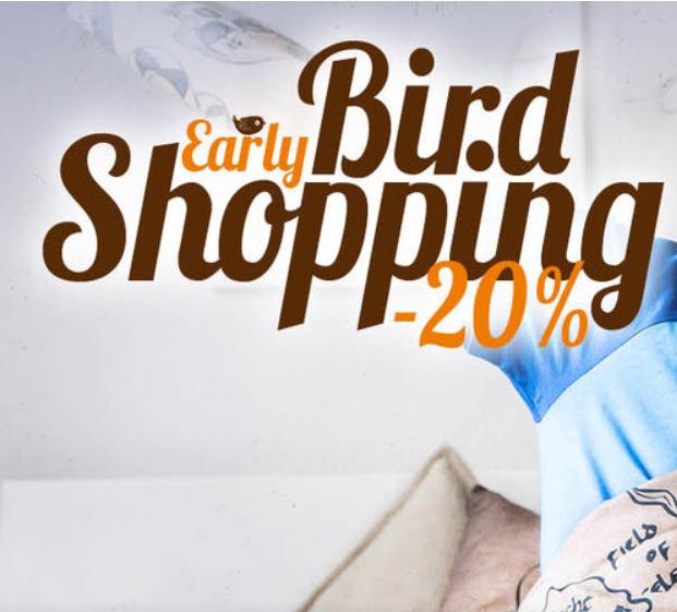 Bild zu EMP: 20% Rabatt auf alle Artikel im Shop