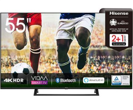 Bild zu Hisense 55AE7200F 4K/UHD LED Fernseher 55 Zoll für 380€ (VG: 443,99€)