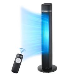 Bild zu PELONIS Turmventilator (Leise mit Oszillation, 3 Geschwindigkeitsstufen & 3 Modus, Timer & Memory-Funktion) für 66,99€