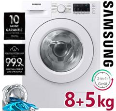 Bild zu Samsung 8 + 5 kg Waschtrockner mit Digital Inverter Technologie für 409,99€ (Vergleich: 599,98€)