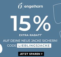 Bild zu [endet heute] Engelhorn: 15% Extra-Rabatt auf alle Jacken (Wellenstyn, Tommy usw.)