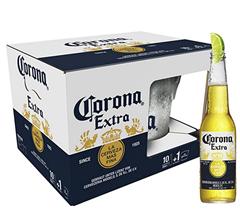 Bild zu [Prime] Corona Extra 10er-Pack inkl. Eiseimer für 15,99€