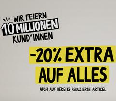 Bild zu [geht noch] AboutYou: 20% Rabatt auf Alles