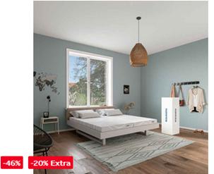 Bild zu 20% Rabatt auf Matratzen, Lattenroste & Betten, so z.B. Schlaraffia Gelschaummatratze »GELTEX® Quantum 180« für 375,99€ (VG 479€)