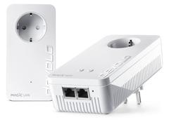Bild zu devolo Magic 1 WiFi Starter Kit (2x Powerline Mesh, WLAN 1200Mbit/s) für 84,90€ (Vergleich: 99€)