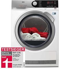 Bild zu AEG T9DE79685 Wärmepumpentrockner (8 kg, A+++) für 676,95€ inkl. Speditionslieferung (VG: 839,98€)