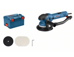 Bild zu Bosch Exzenterschleifer GET 75-150 inkl. Zubehör in L-BOXX für 275,70€ (Vergleich: 321,95€)