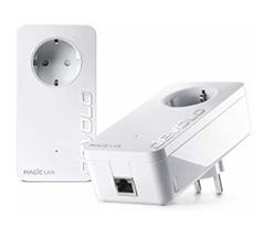 Bild zu Devolo Magic 2 1-1-2 LAN Starter Kit Powerline Hochgeschwindigkeit 2400 Mbit/s für 81€ (Vergleich: 97,97€)