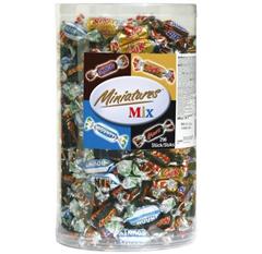 Bild zu Mars, Snickers, Bounty & Twix Schokoriegel Minitures Mix (3kg) ab 20,61€ (VG: 30,94€)
