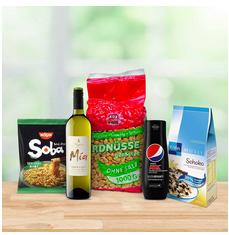 Bild zu 5 für 4 Aktion bei Amazon mit Lebensmitteln & Getränken
