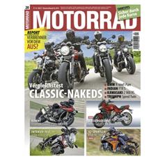 Bild zu Schnupperabo Motorrad für 3 Monate (6 Ausgaben) für 29,70€ + 30€ Amazon Gutschein