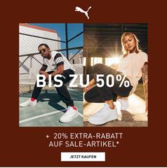 Bild zu [endet auch heute] Puma: Sale bis zu 50% Rabatt + 20% Extra-Rabatt